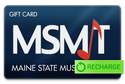 Recharge your Maine State Music Theatre Card